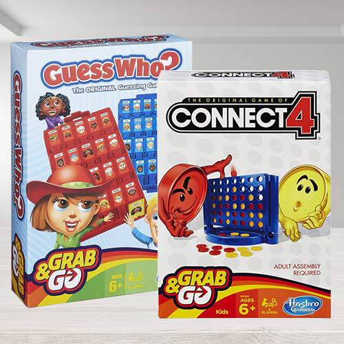 Amazing Board Games Set for Kids