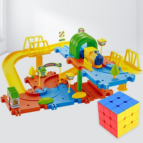 Exciting Speed Cube N Toy Train Set