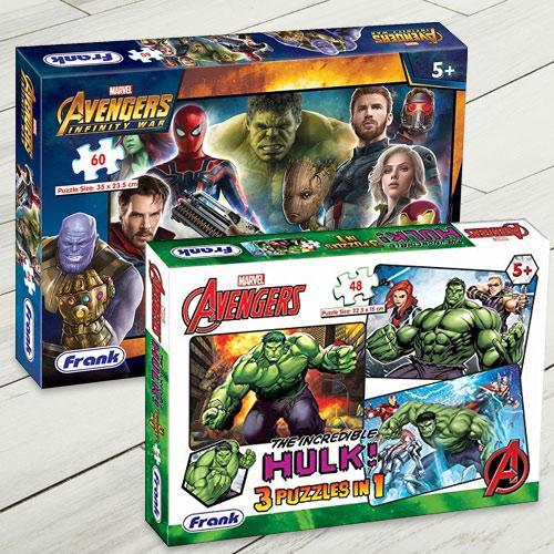 Amazing Frank Marvel Avengers Jigsaw Puzzle Set