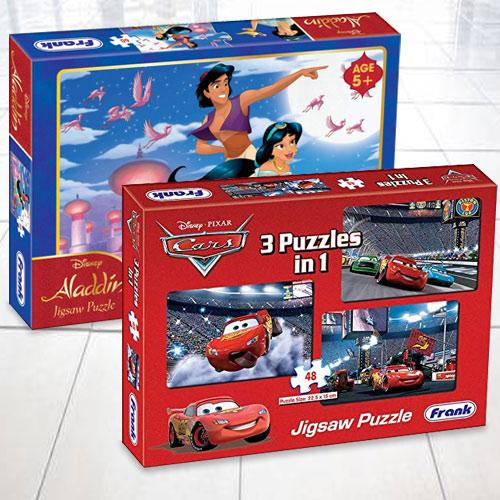 Exciting Frank Disney Aladdin N Pixar Cars Puzzles