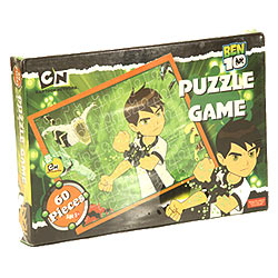 Remarkable Ben 10 Puzzle Game