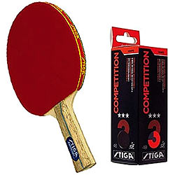 Marvelous Sport with Stiga Table Tennis Racquet and Stiga Competition 3 Star Table Tennis Ball