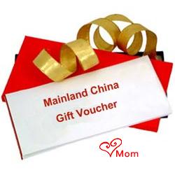 Mainland China Gift Vouchers Worth Rs.2000