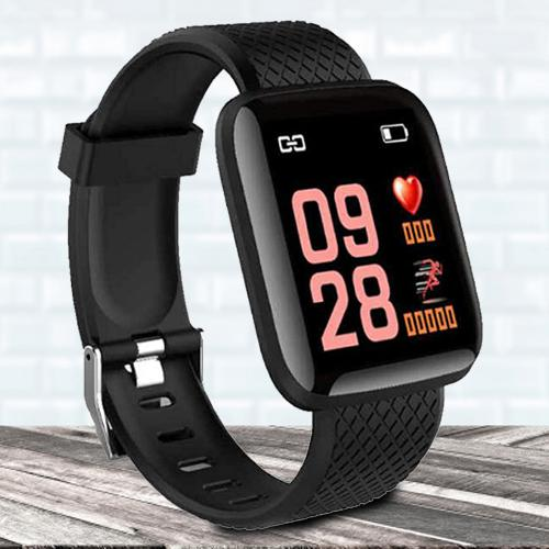 Attractive HUG PUPPY Bluetooth Fitness Smart Watch