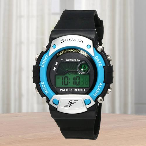 Exclusive Sonata Digital Mens Watch