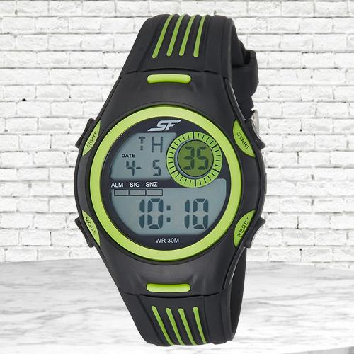 Wonderful Sonata Fibre Digital Mens Watch