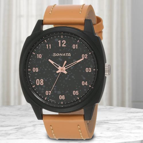 Outstanding Sonata Volt+ Analog Mens Watch
