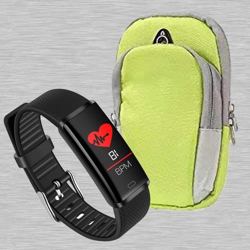 Wonderful PTron Fitness Band N Running Arm Band