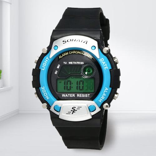 Remarkable Sonata Digital Mens Watch