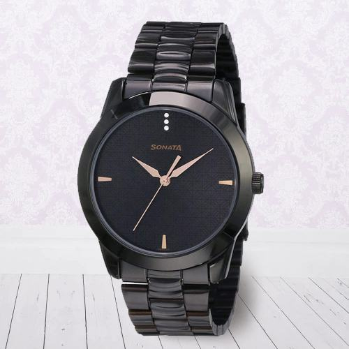 Striking Sonata Analog Mens Watch