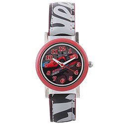 Remarkable Hot Wheels Analog Kids Watch from Disney in Multicolour
