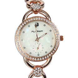 A Dazzling Designer Womens Watch embellished with Stones
