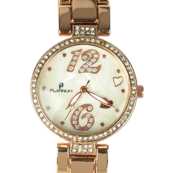 An Alluring Ladies Watch decked with American Diamonds