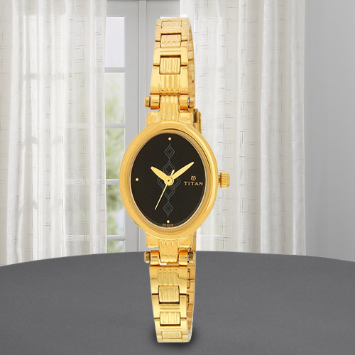 Remarkable Titan Analog Womens Watch