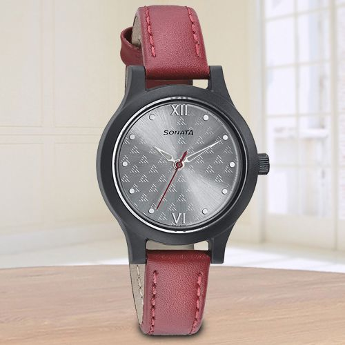 Stunning Sonata Essentials Analog Womens Watch