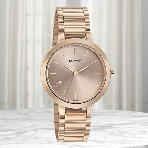 Attractive Sonata Play Analog Womens Watch