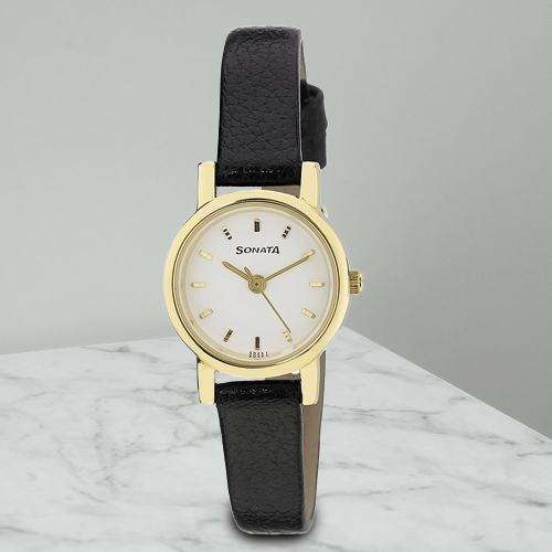 Remarkable Sonata Analog Womens Watch
