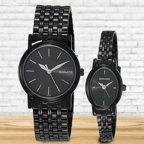 Outstanding Sonata Analog Unisex Watch