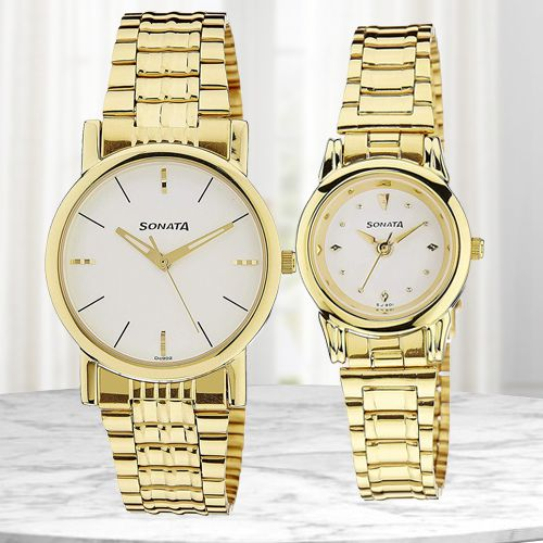 Attractive Sonata Analog Men N Women Watch